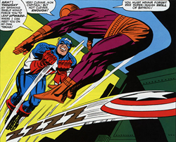 Cap takes in too Batroc