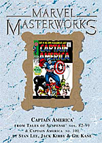 Marvel Masterworks Captain America Vol. 2