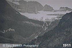 Grinell Glacier, Glacier National Park, 1911
