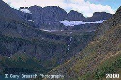Grinell Glacier, Glacier National Park, 2000