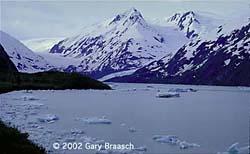 Portage Glacier, Alaska, 2001
