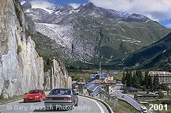 Rhone Glacier, Switzerland, 2001