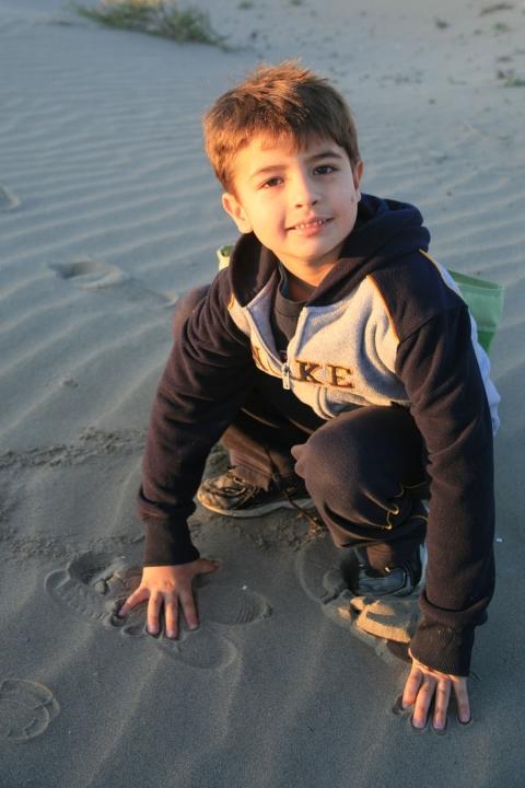 Beach Mikey!