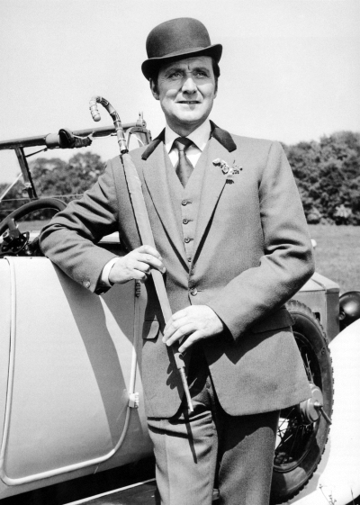 Patrick Macnee as John Steed